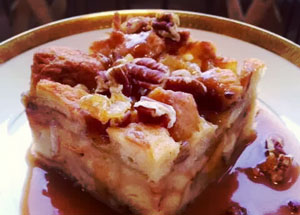 Cocoa Bakery and Cafe Bread Pudding