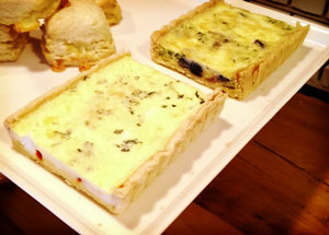 Cocoa Bakery and Cafe: Quiche