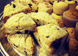 Cocoa Bakery and Cafe Scones
